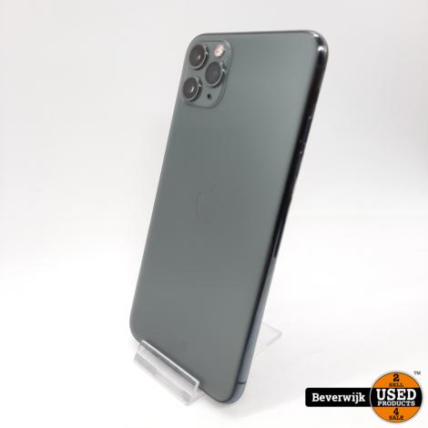 Apple iPhone 11 Pro Max 64 GB Groen - In Goede Staat!