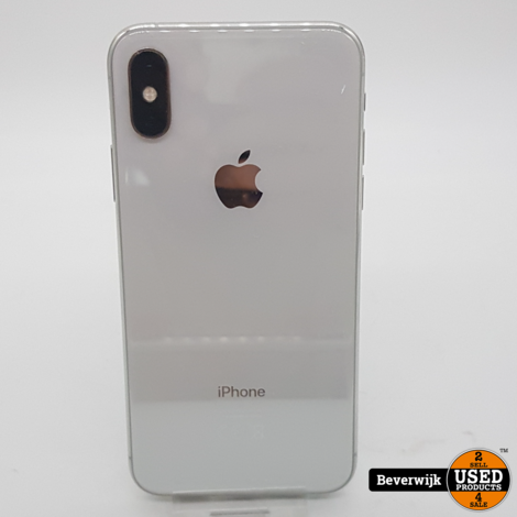 Apple iPhone XS 64 GB Wit in Goede Staat