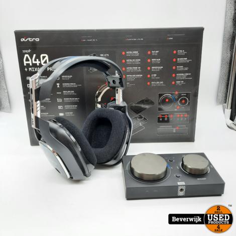 ASTRO A40 TR Gaming Headset + MixAmp Pro TR - Zo Goed Als Nieuw!