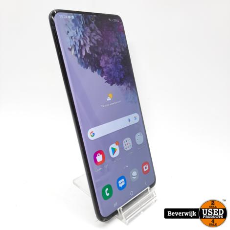 Samsung Galaxy S20+ 128 GB Zwart - in Goede Staat
