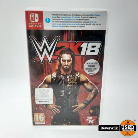 W2K18 - Nintendo Switch Game