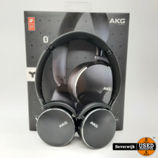 AKG Y500 Noise Cancelling Wireless Koptelefoon - Zwart