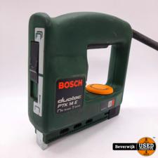 Bosch Bosch Duotac PTK 14E Nietmachine - In Goede Staat!