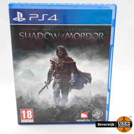 Shadow of Mordor - PS4 Game