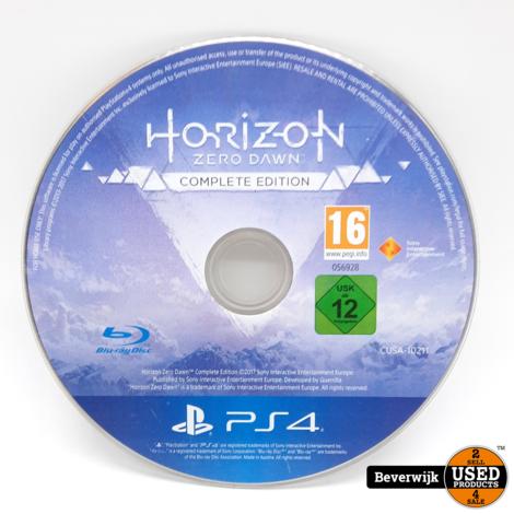 Horizon Zero Dawn Complete Edition - Alleen Disc