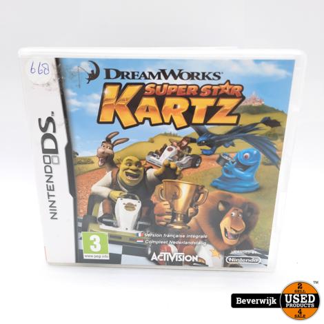 DreamWorks Super Star Kartz - Nintendo DS Game