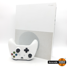 Microsoft Microsoft Xbox One S 1TB Wit - In Nette Staat