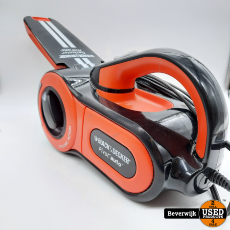 Black & Decker Pivot Auto Dust Buster Auto Stofzuiger - In goede Staat