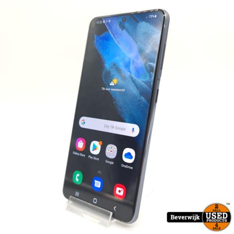 Samsung Galaxy S21 128GB Phantom Grey - In Nette Staat