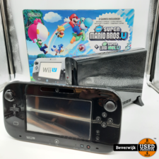 Nintendo Nintendo Wii U 32 GB Zwart - Zo Goed Als Nieuw!