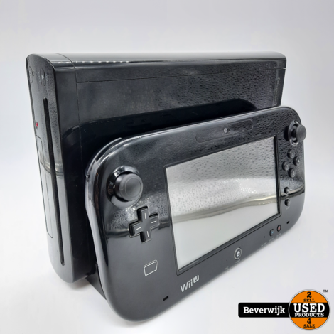 Nintendo Wii U 32 GB Zwart - Zo Goed Als Nieuw!