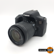 Canon EOS 750D + 18-55mm Lens - In Nette Staat