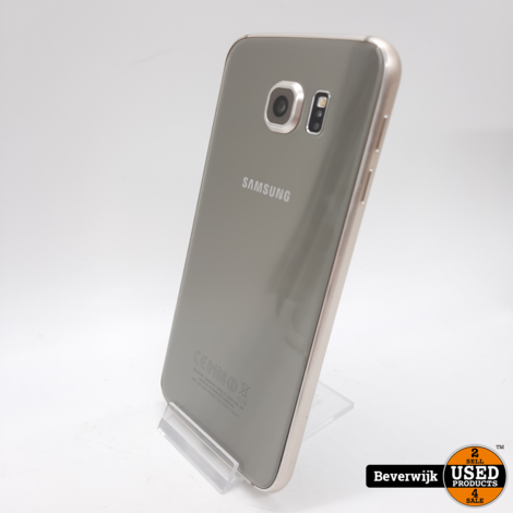 Samsung Galaxy S6 32 GB  Goud in Goede Staat