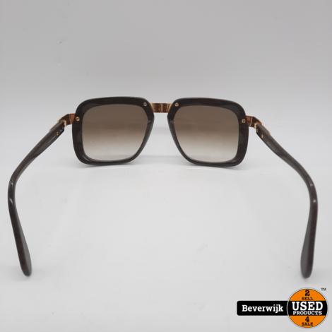 Cazal Vintage Dark Wood 616/3 Unisex Zonnebril - In Goede Staat!