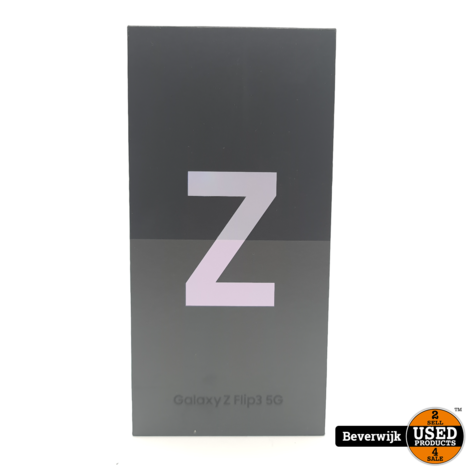 Samsung Galaxy Z Flip 3 256GB 5G Lavender - NIEUW