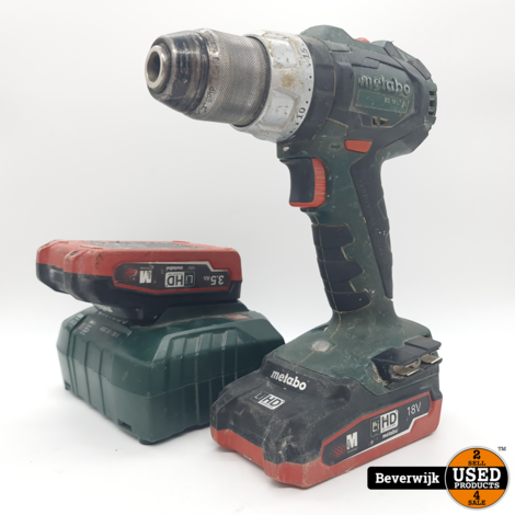 METABO BS18LTBL 18 Volt Boormachine - In Goede Staat
