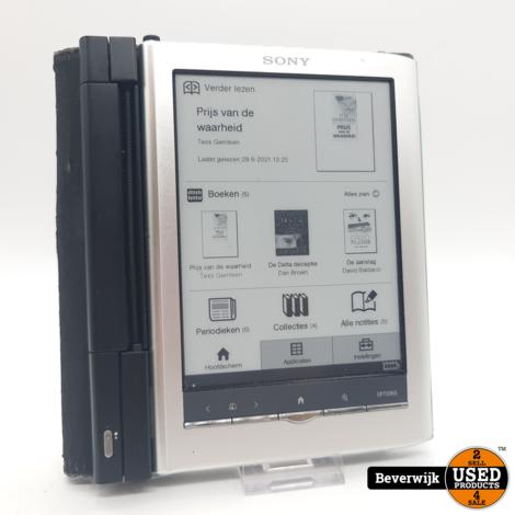 Sony PSR-650 E-Reader Zilver - In Goede Staat