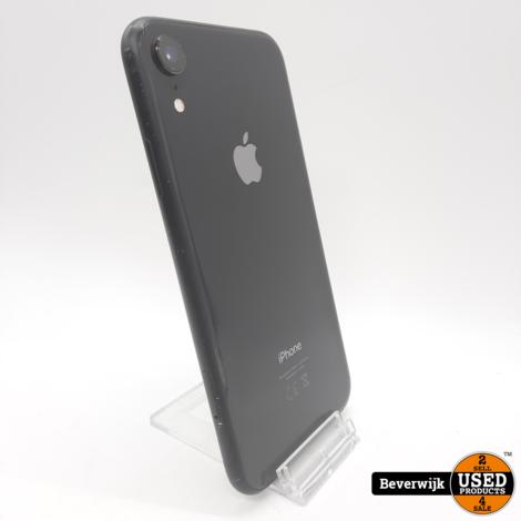 Apple iPhone XR 64GB Black 94% - In Goede Staat