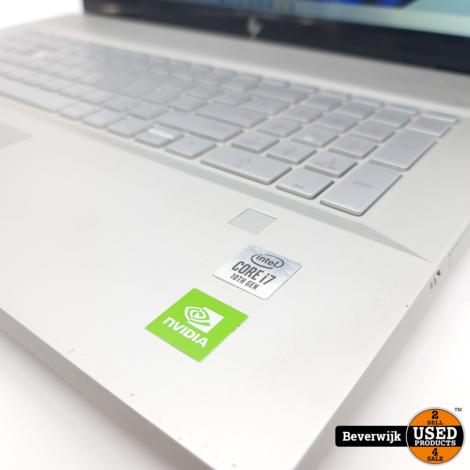 HP Envy 17-ce1907nd i7 16GB 512GB SSD MX250 - WINDOWS 11