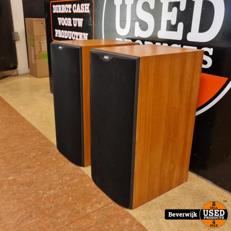 B&W DM 602 S2 Stereo Speakers Hi-FI Audio - In Nette Staat