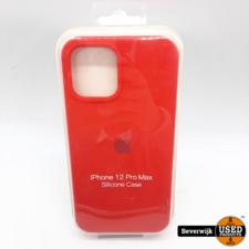 Apple Apple iPhone 12 Pro Max Silicone Case - Nieuw!