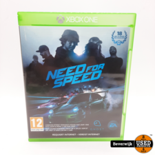 Microsoft Need For Speed XBOX One Game