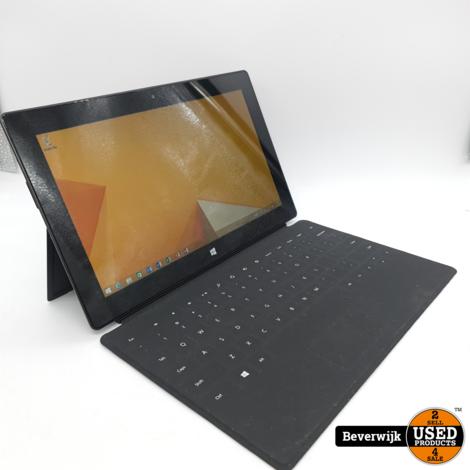 Microsoft Surface RT 64GB Zwart met Toetsenbord Windows 8.1 - In Nette Staat