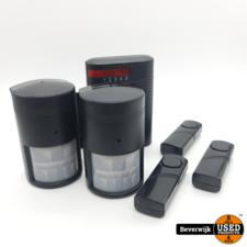 RoHs 5 kanaals alarmsysteem op batterijen - Nieuw uit Doos