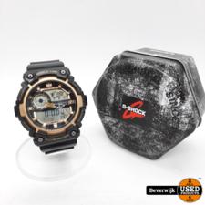 Casio 5472 AEQ-200W Heren Horloge - In Nette Staat!