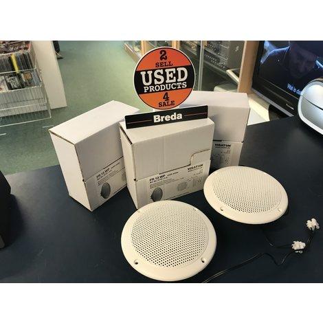 Visaton FR 13 WP breedbandluidspreker 5 Stuks WIT || Nieuw  ||