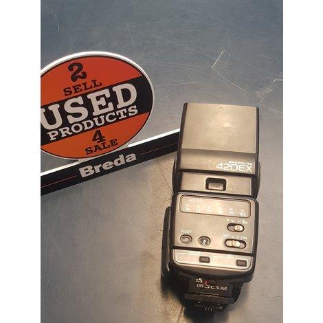 Canon Speedlite 420EX Flitser ||In nette staat||