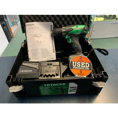 Hitachi DC-14DSL14,4 Volt Boormachine SET