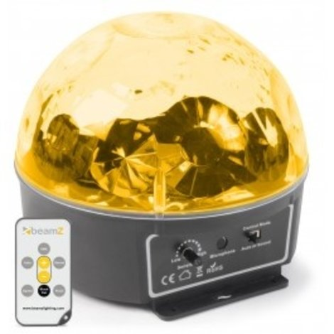 Mini Star Ball Sound RGBWAP IRC6x3W