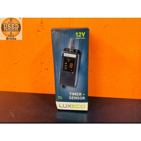 Luxeco Timer + Sensor 12V Nieuw