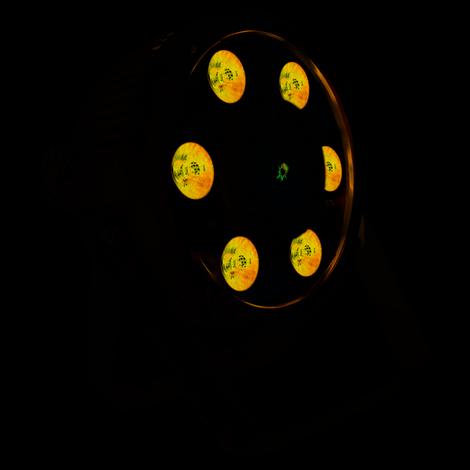 BX100PAR 6x6W 4in1 RGBW Strobe Lase