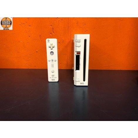 Nintendo Wii  Wit z. Nunchuck | Incl. garantie