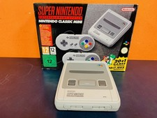 Nintendo Classic Mini SNES Compleet!