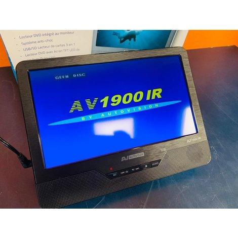 Autovision AV1900IR Portable DVD Player #1