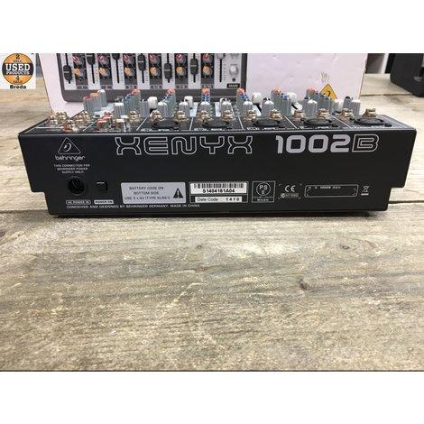 Behringer Xenyx 1002B Mixer met Doos | Incl. garantie