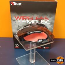 Trust Wireless GXT35 Gaming Muis Compleet in Doos    Incl. garantie