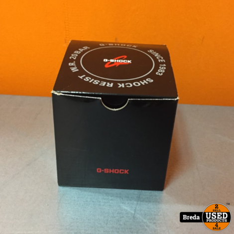4 G-Shock Horloges Compleet met doos | Incl. garantie
