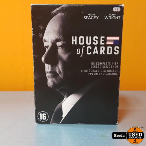 House of Cards dvd set seizoen 1 t/m 4 | Incl. garantie