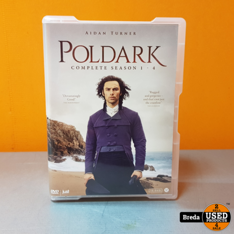 Poldark dvd set seizoen 1 t/m 4 | Incl. garantie