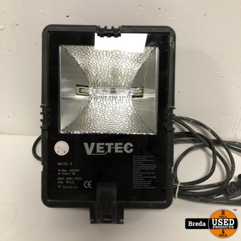 Vetec MH70-2 bouwlamp | Incl. garantie