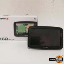 Tomtom Go Basic zgan in doos | Incl. garantie
