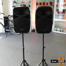 VPS102A Actieve Speakerset met stands Nieuw 178.128 | Incl. garantie