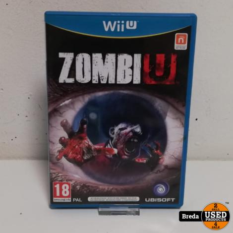 Zombiu Wii U   Incl. garantie