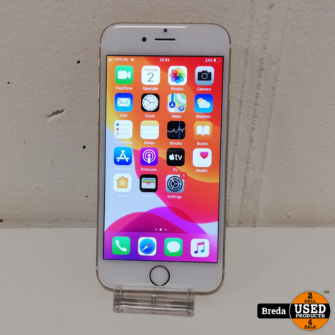 Apple Iphone 6S 64GB Gold zonder lader