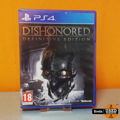 Dishonerd Definitive Edition Playstation 4