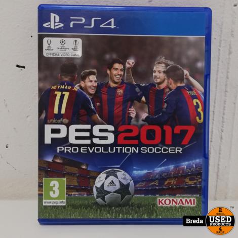 Playstation 4 Pes  ProEvolution Soccer 2017 | Incl. garantie